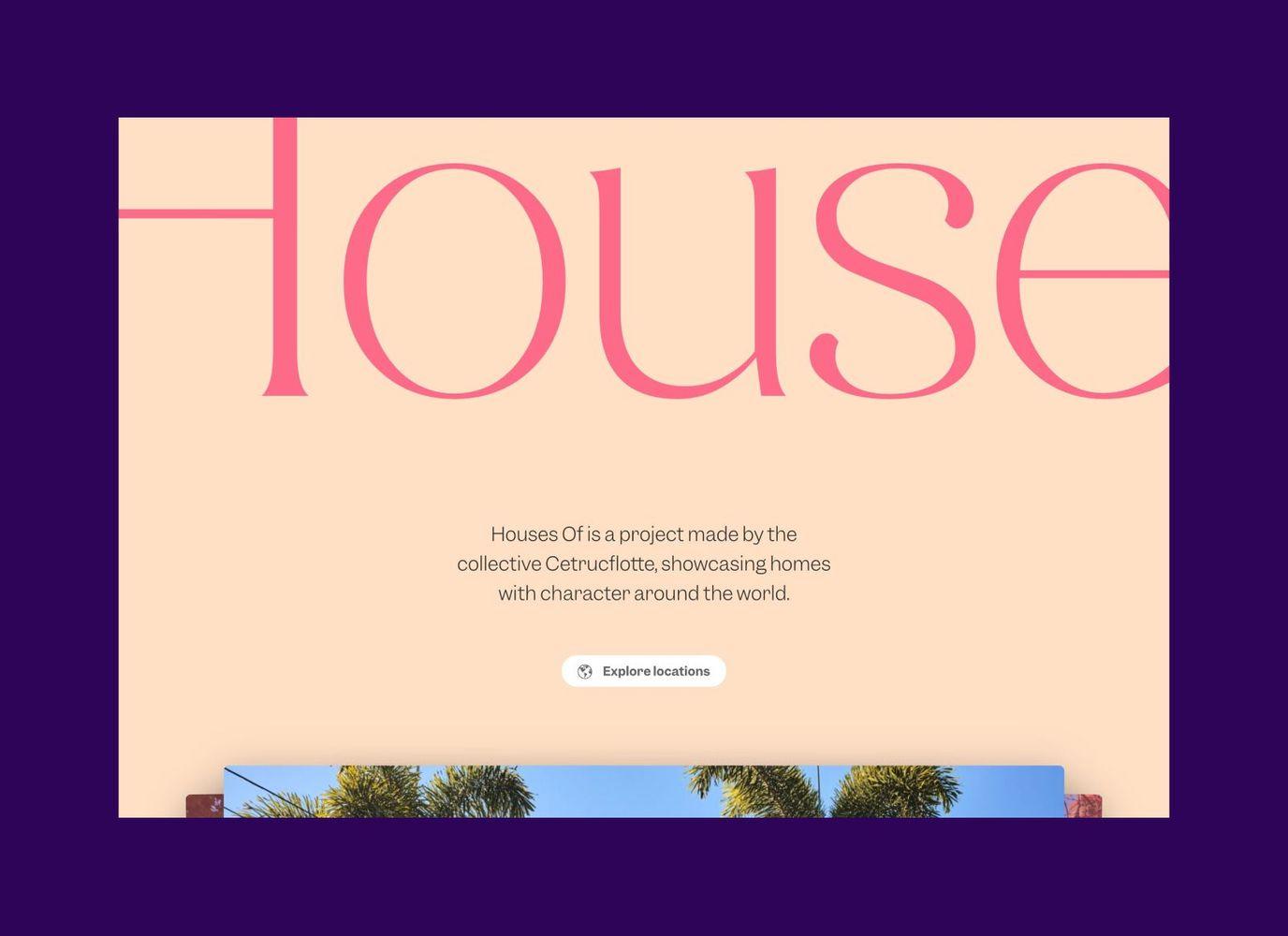 Housesof Homepage